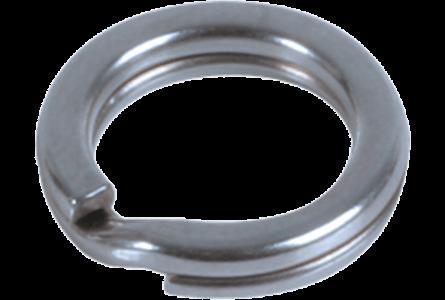 BFT Splitring, Stainless 360lb, 14mm - 5-pack