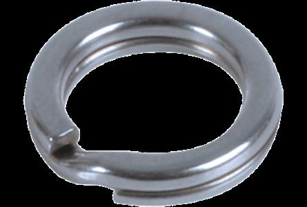 BFT Splitring, Stainless 420lb, 16mm - 5-pack