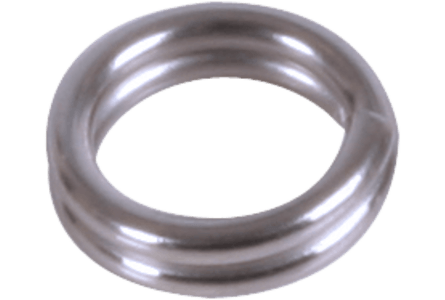 BFT Splitring, Stainless 5mm - 10-pack