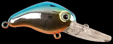 Strike Pro Trigger 4cm Blue Silver OB