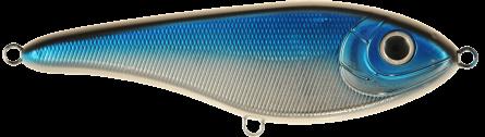 Strike Pro Buster Jerk Slow Sinking 15cm Blue/Chrome