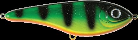 Strike Pro Buster Jerk Slow Sinking 15cm Fire Tiger