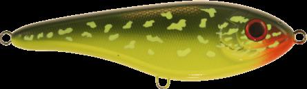 Strike Pro Buster Jerk Slow Sinking 15cm Hot Pike