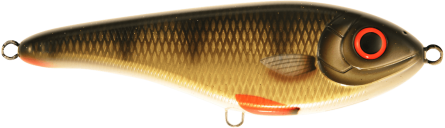 Strike Pro Buster Jerk Slow Sinking 15cm Golden Perch