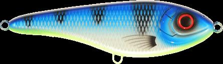 Strike Pro Buster Jerk Slow Sinking 15cm Ocean Blue