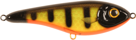 Strike Pro Buster Jerk Shallow Cruiser 15cm Black Okiboji Perch