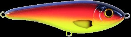 Strike Pro Buster Jerk Slow Sinking 15cm Blue Parrot