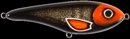 Strike Pro Buster Jerk Slow Sinking 15cm Moonshadow