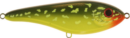 Strike Pro Buster Jerk Shallow 15cm Hot Pike