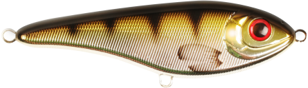 Strike Pro Buster Jerk Shallow 15cm Metallic Perch