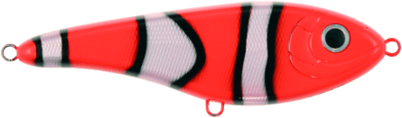 Strike Pro Buster Jerk II Susp 12cm Clownfish