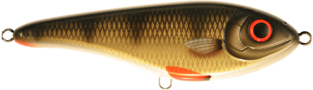 Strike Pro Buster Jerk II Susp 12cm Golden Perch