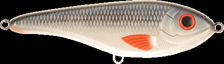 Strike Pro Buster Jerk II Susp 12cm Whitefish