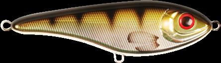 Strike Pro Buster Jerk II Susp 12cm Metallic Perch