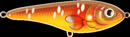 Strike Pro Buster Jerk II Susp 12cm Brown Carp
