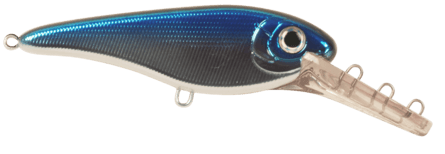 Strike Pro Buster II Deep Crankbait 12cm Blue Chrome