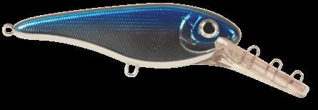 Strike Pro Buster II Deep Crankbait 12cm Blue Chrome