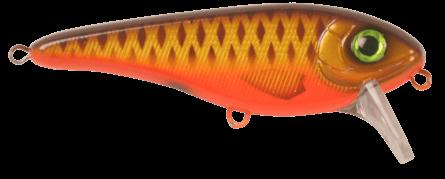 Strike Pro Buster II Crankbait 12cm Brown Parrot