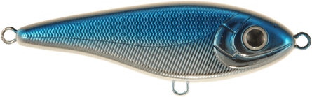 Strike Pro Baby Buster Susp 10cm Blue Chrome