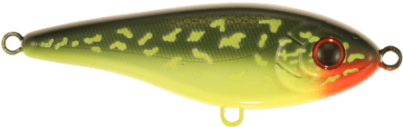 Strike Pro Baby Buster Susp 10cm Hot Pike
