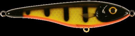 Strike Pro Big Bandit Shallow Runner 19,6cm Black Okiboji Perch