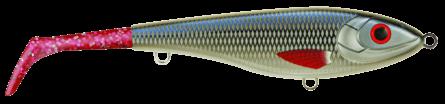 Strike Pro Bandit Paddle Tail Slow Sink 22cm Whitefish - Pink
