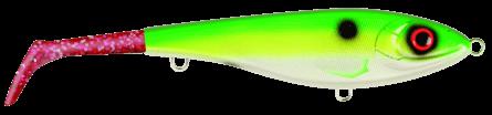 Strike Pro Bandit Paddle Tail Slow Sink 22cm Rugen Shad - Pink