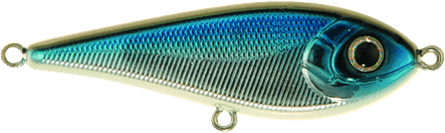Strike Pro Tiny Buster Susp 6,5cm Blue Chrome