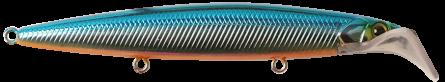 Strike Pro Scooter Minnow 9cm Blue Silver OB