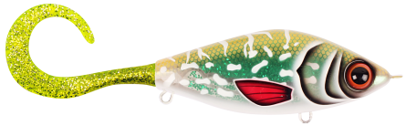 Strike Pro Guppie Jr 11,5cm Glitter Pike Green/Gold Glitter