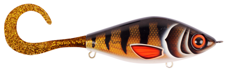Strike Pro Guppie Jr 11,5cm Golden Perch - Gold/Gold Glitter