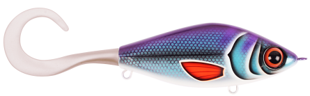 Strike Pro Guppie 13,5cm Peterson Shiner - Pearl White