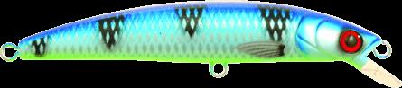Strike Pro Strike Pikee 12cm Ocean Blue