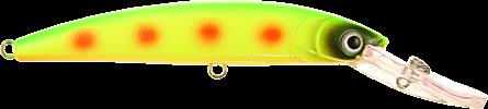 Strike Pro Buster Deep 6m+ 12cm Yellow Sun