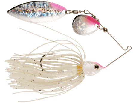 Strike Pro Strike Jr Spinnerbait 19,6gr Pearl White Pink
