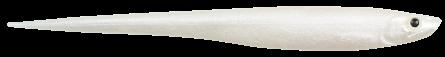Softbaits by Strike Pro Shiver 22cm Albino Pearl