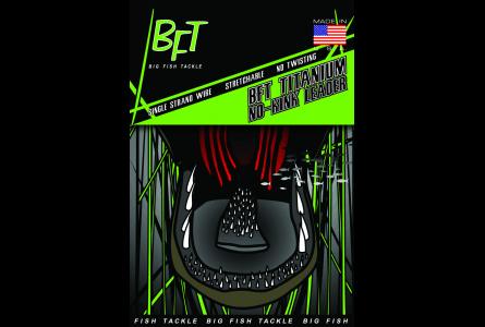 BFT Titanium No-kink Tafsmaterial 75lb - 10ft