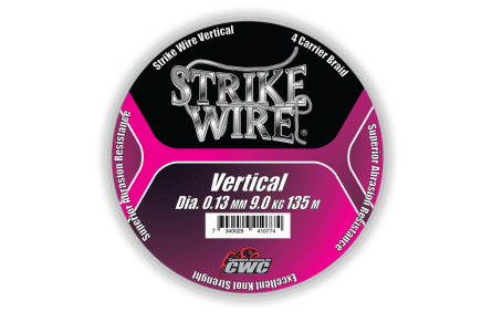 Strike Wire Vertical, 0,10mm/6kg 1500m, H-V Pink