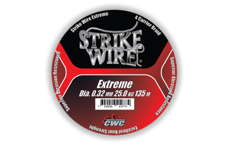 Strike Wire Red Strike, 0,19mm/14kg 1500m, H-V Red