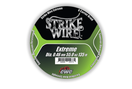 Strike Wire Extreme, 0,08mm/4,5kg 135m, Mossgreen