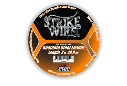 Strike Wire Leader 40kg, 3m