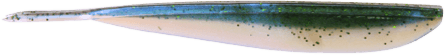 Lunker City Fin-S Fish 10cm, Dropshot Smelt - 10pack