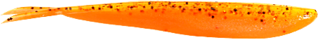 Lunker City Fin-S Fish 10cm, Dropshot Pumpkin Perch - 10pack