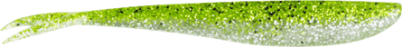 Lunker City Fin-S Fish 14,5cm Chartreuse Ice - 8pack