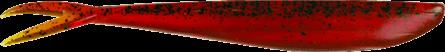 Lunker City Fin-S Fish 14,5cm Motor Oli Pepper - 8pack