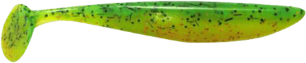 Lunker City Swimfish Shad 7cm Fire Perch - 12pack