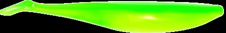 Lunker City Swimfish Shad 9,5cm Limetreuse - 8pack