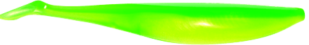 Lunker City Swimfish Shad 12,5cm Limetreuse - 4pack