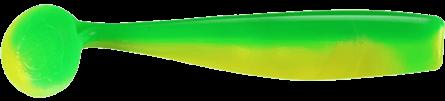 Lunker City Shaker Shad 8cm Limetreuse - 10pack