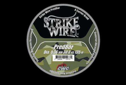 Strike Wire Pred8or X8, 0,36mm/30kg